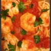 Shrimp with Linguine