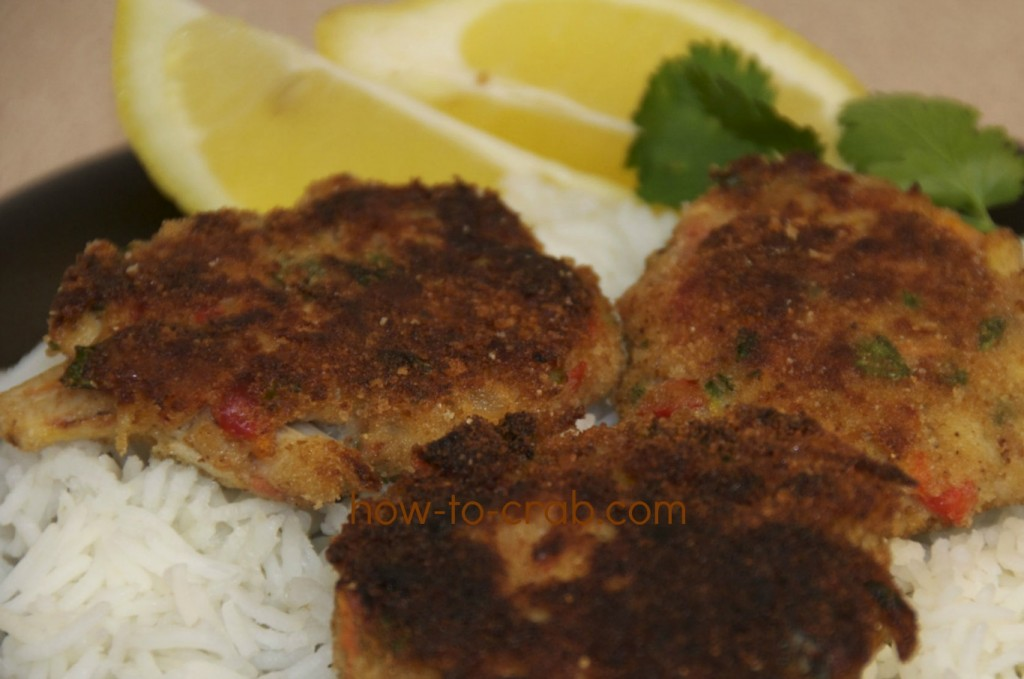 Chesapeake bay crab cakes with old bay seasoning