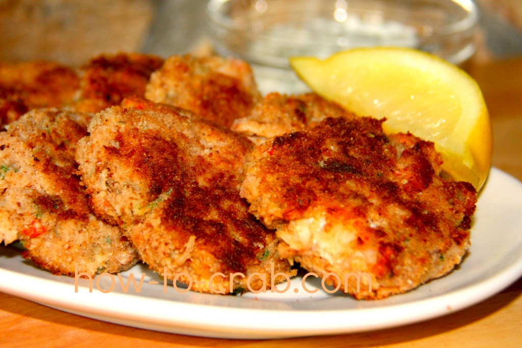 Mock crab cakes that taste just the same
