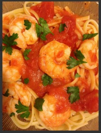 shrimp-linguine